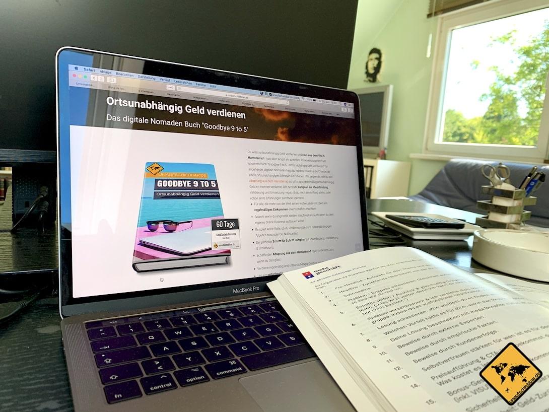 Umsetzung Verkaufsseite Online Marketing Bibel
