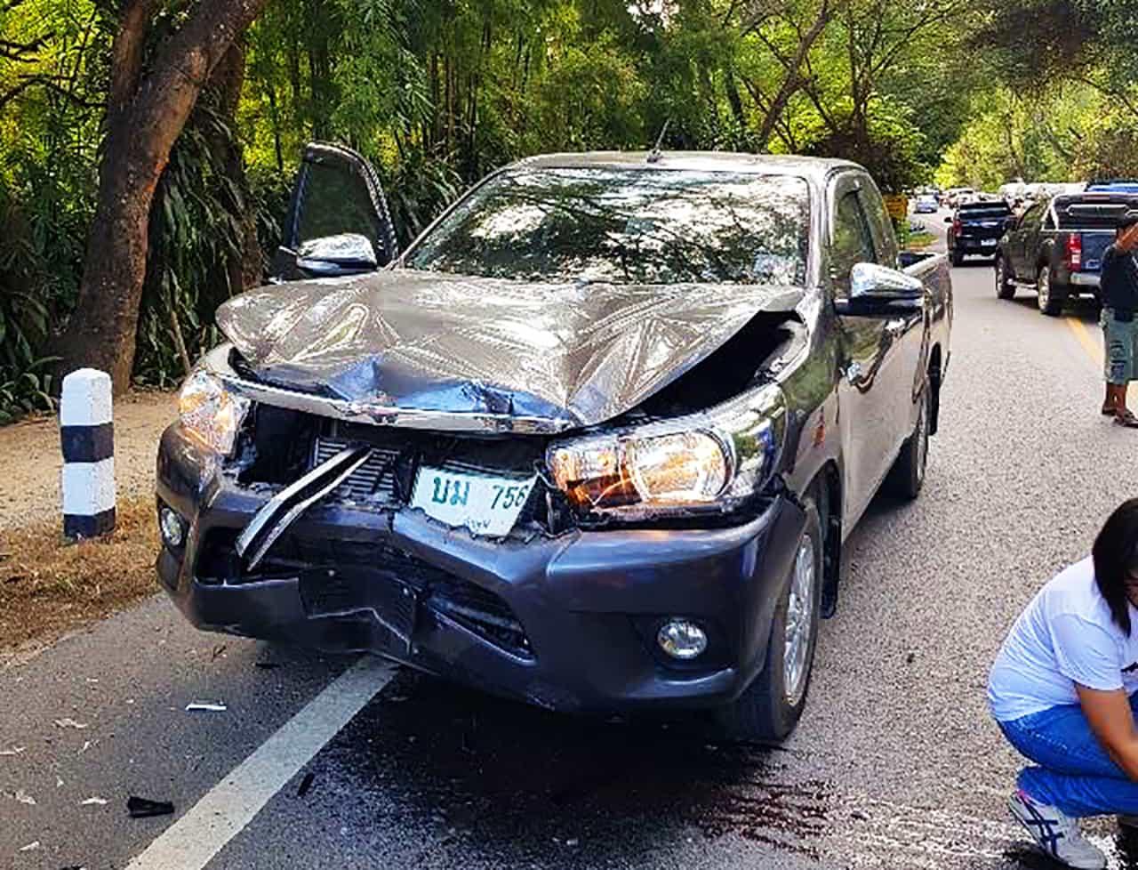 Unfall unaufschiebbar Pickup