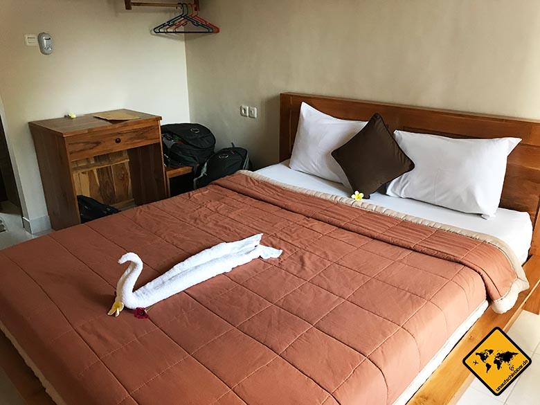 Unterkunft Ubud Sakha House Bett