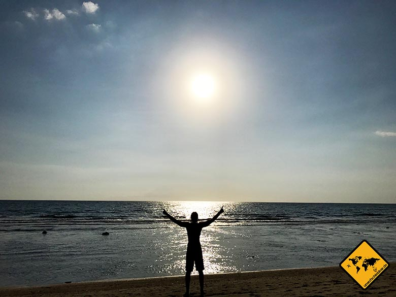 Urlaub auf Lombok Strand