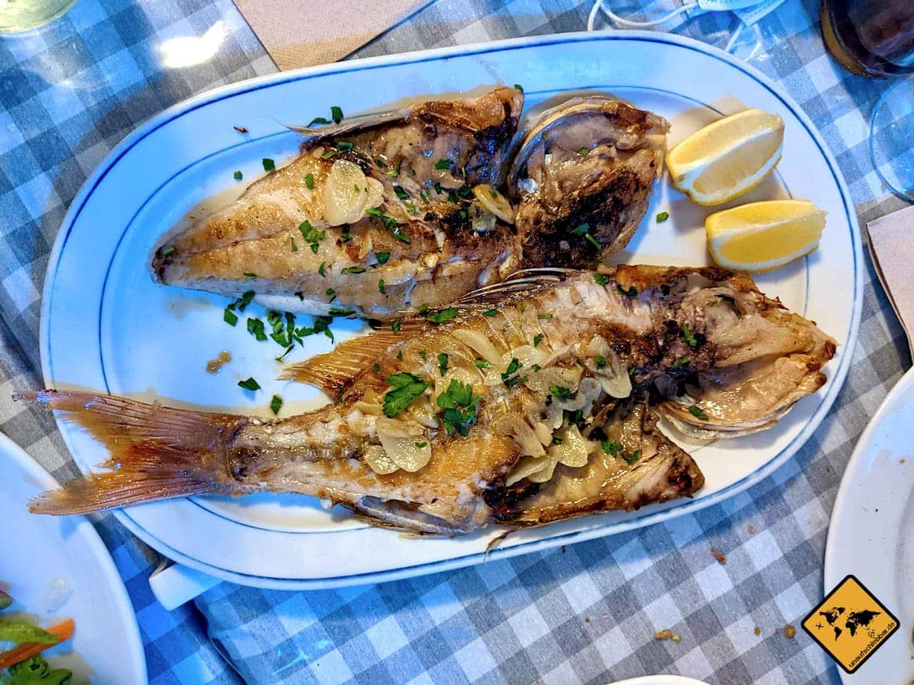 Urlaub auf Teneriffa Fisch essen Tajao