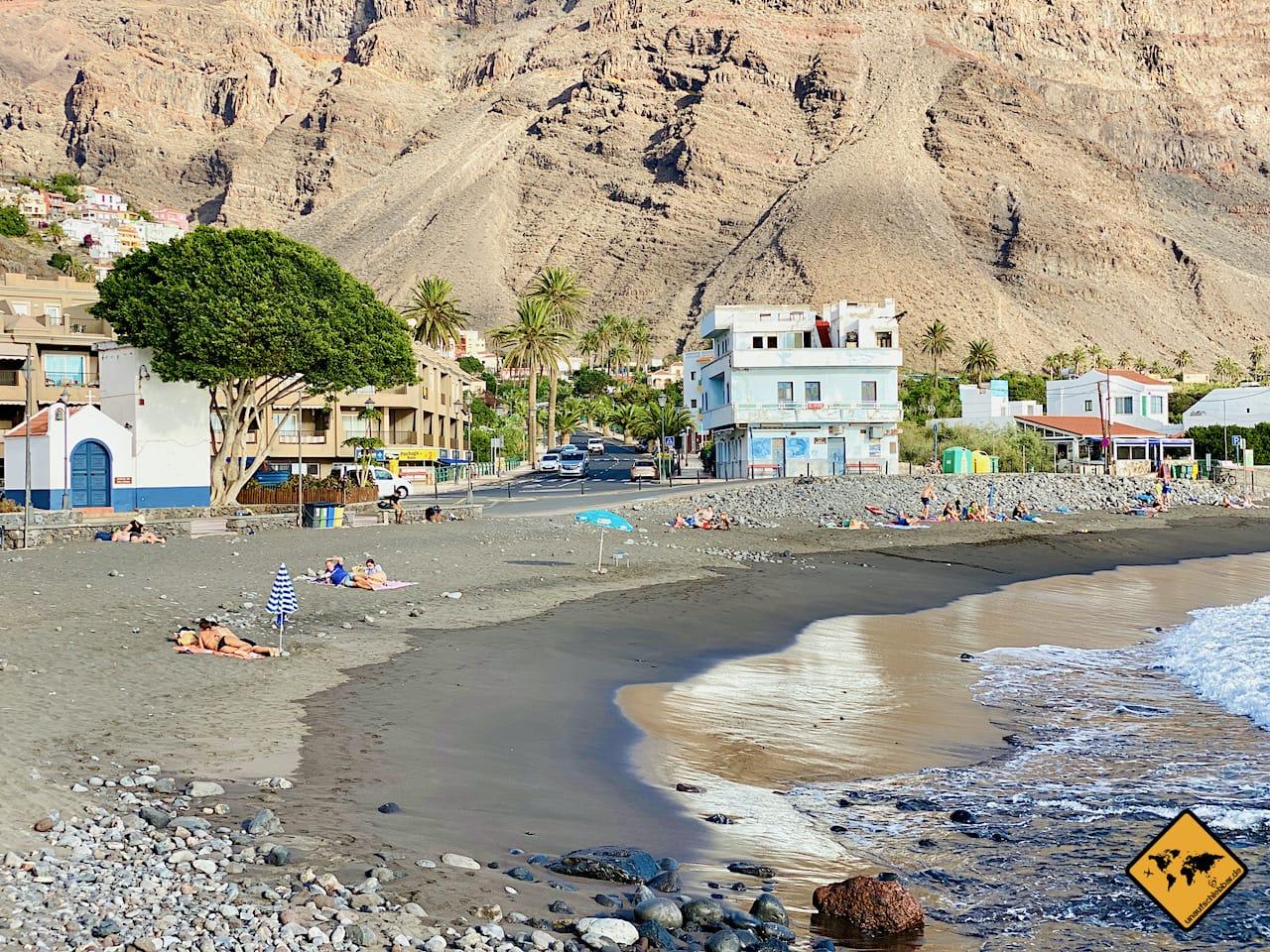 Urlaubsort Valle Gran Rey La Gomera Kanaren