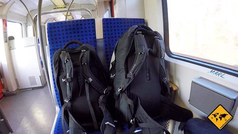 Urlaubsschnäppchen Zug zum Flug