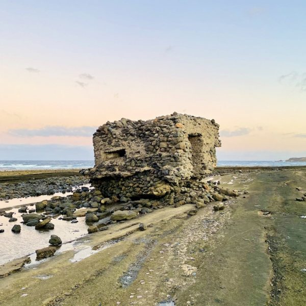 Verlassener Bunker Playa del Matorral Fuerteventura Insider Tipps
