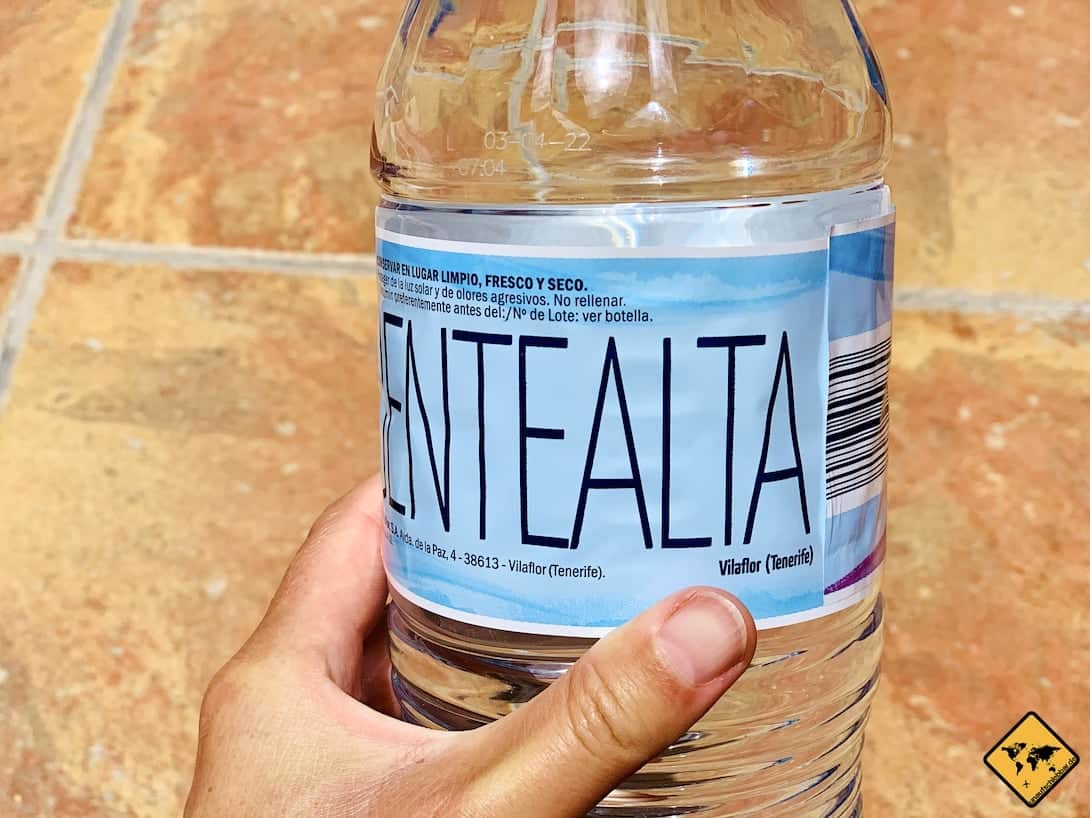 Vilaflor Wasser Teneriffa