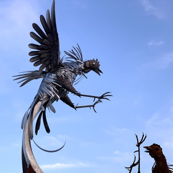 Vogel Skulptur Puerto del Rosario Fuerteventura