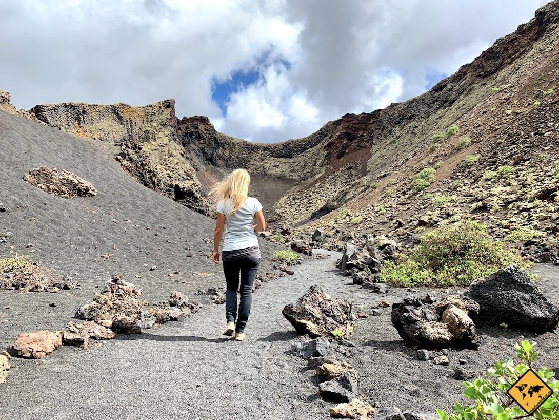 Volcán El Cuervo Lanzarote Ausflugstipps