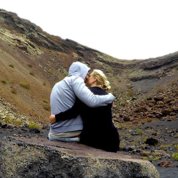 Der Volcan El Cuervo ist in der Regel nicht stark besucht und bietet viel Platz für Zweisamkeit