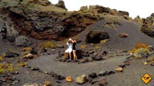 Unser Lieblingsplatz im Timanfaya Nationalpark: Der Volcan el Cuervo