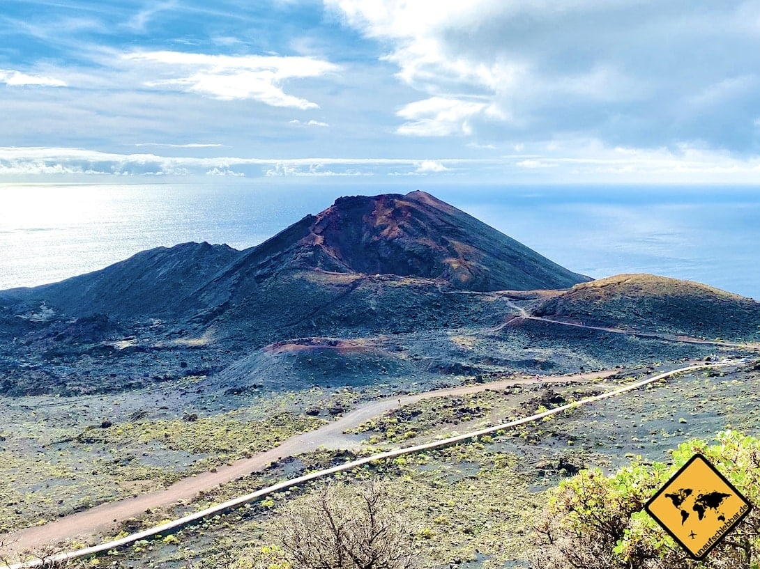 Volcán Teneguía Sehenswürdigkeiten auf La Palma
