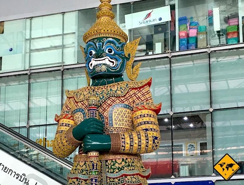 Von Bangkok nach Koh Samui Flughafen