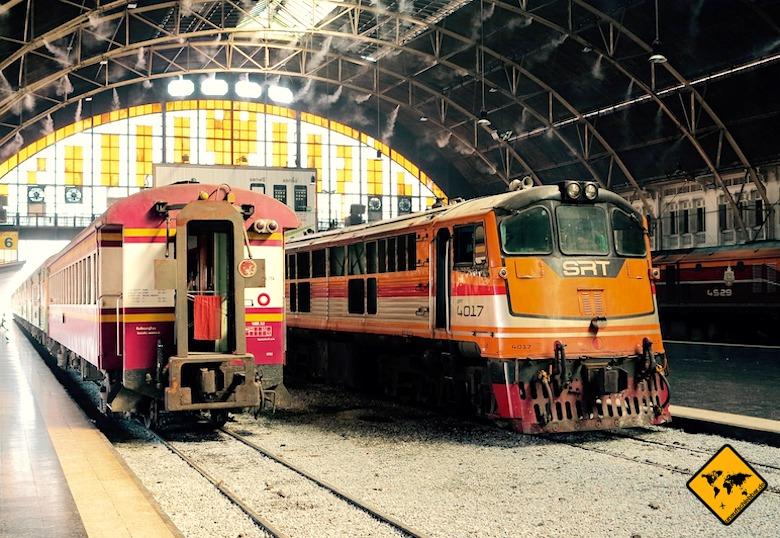 Von Bangkok nach Koh Samui Zug
