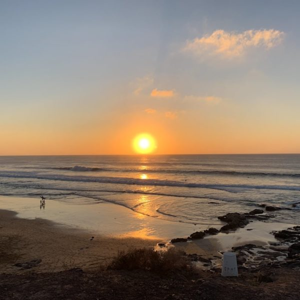 Von Corralejo nach El Cotillo Sonnenuntergang