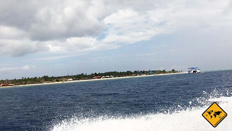 Von Nusa Lembongan nach Nusa Penida