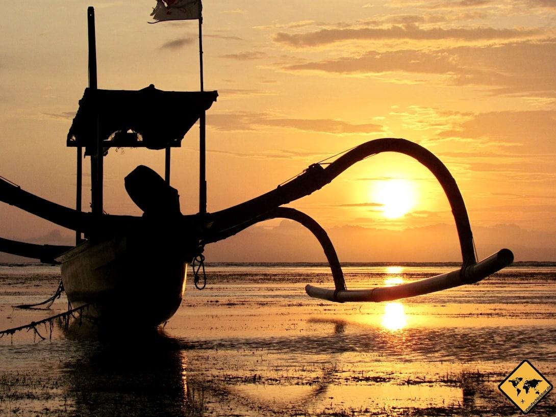 Von Nusa Lembongan nach Nusa Penida Boot