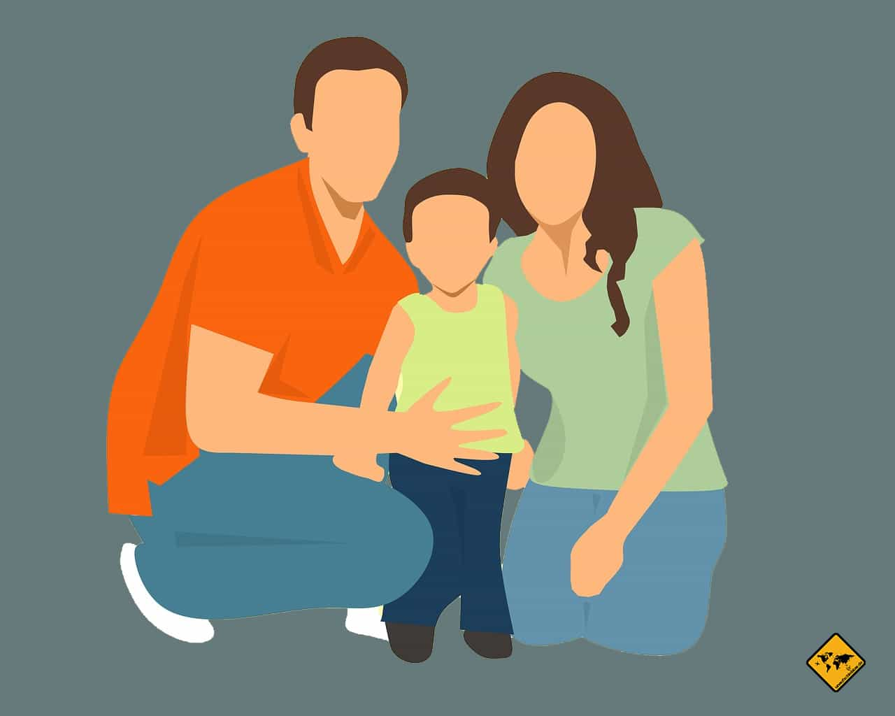 Vorteil remote work - Familie mehr Zeit
