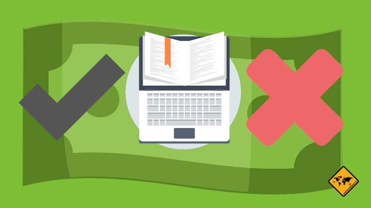 Vorteile Nachteile mit Texten Geld verdienen online