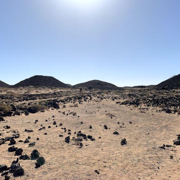 Vulkan-Landschaft Isla de Lobos