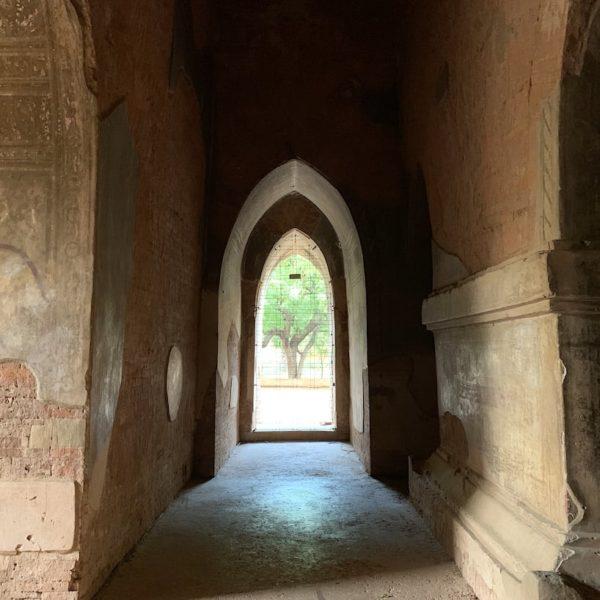 Wände Sulamani Tempel Bagan Myanmar