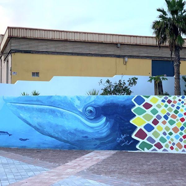 Wal Streetart Puerto del Rosario