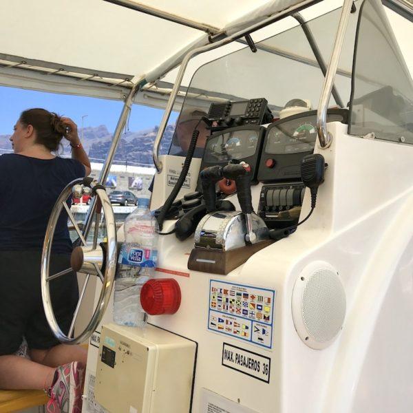 Walbeobachtung Teneriffa Motorboot