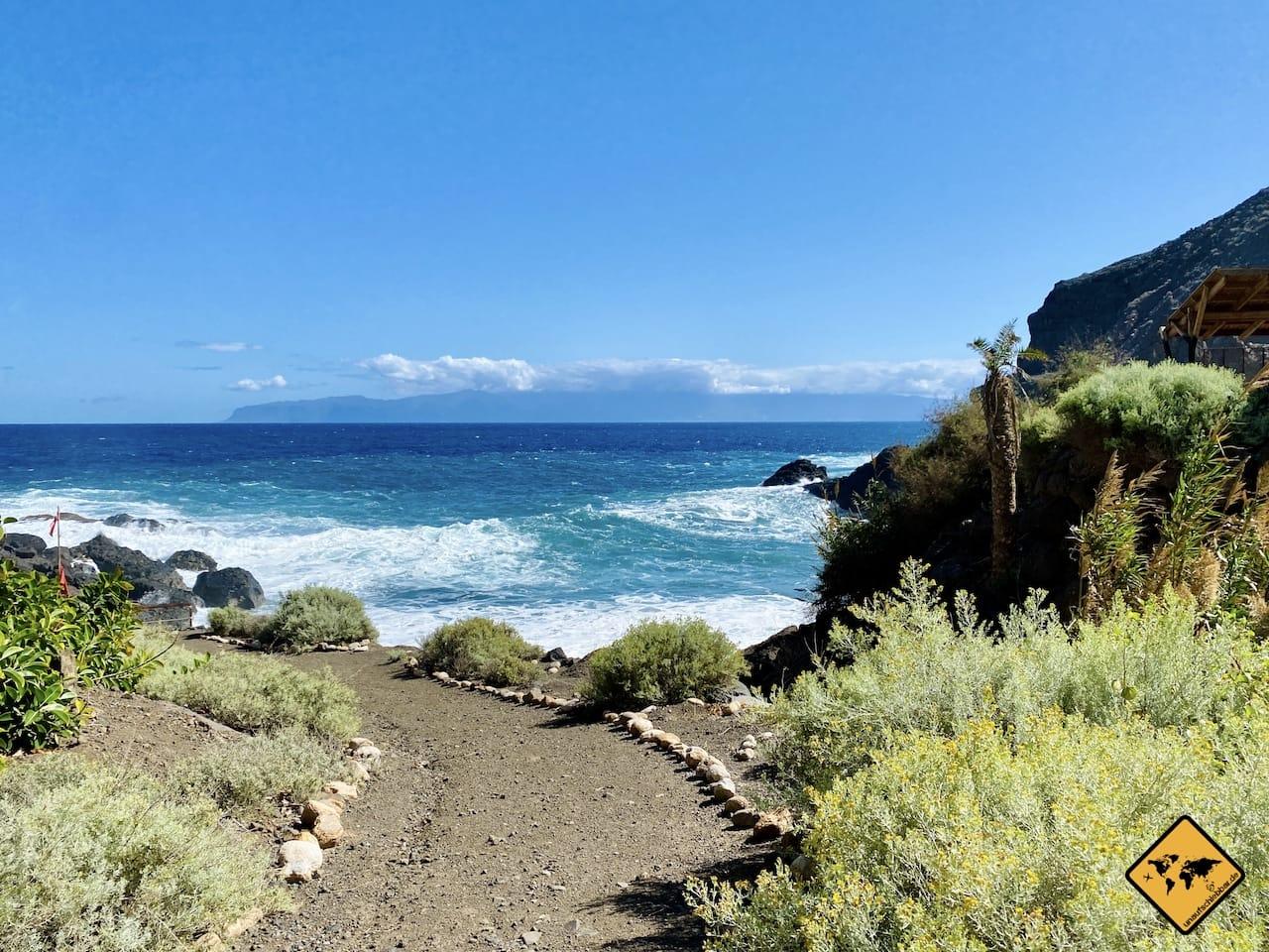 Wandern La Gomera Playa de San Marcos Agulo