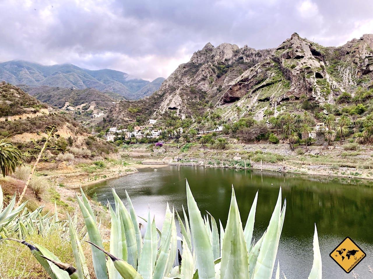 Wandern La Gomera Presa La Encantadora