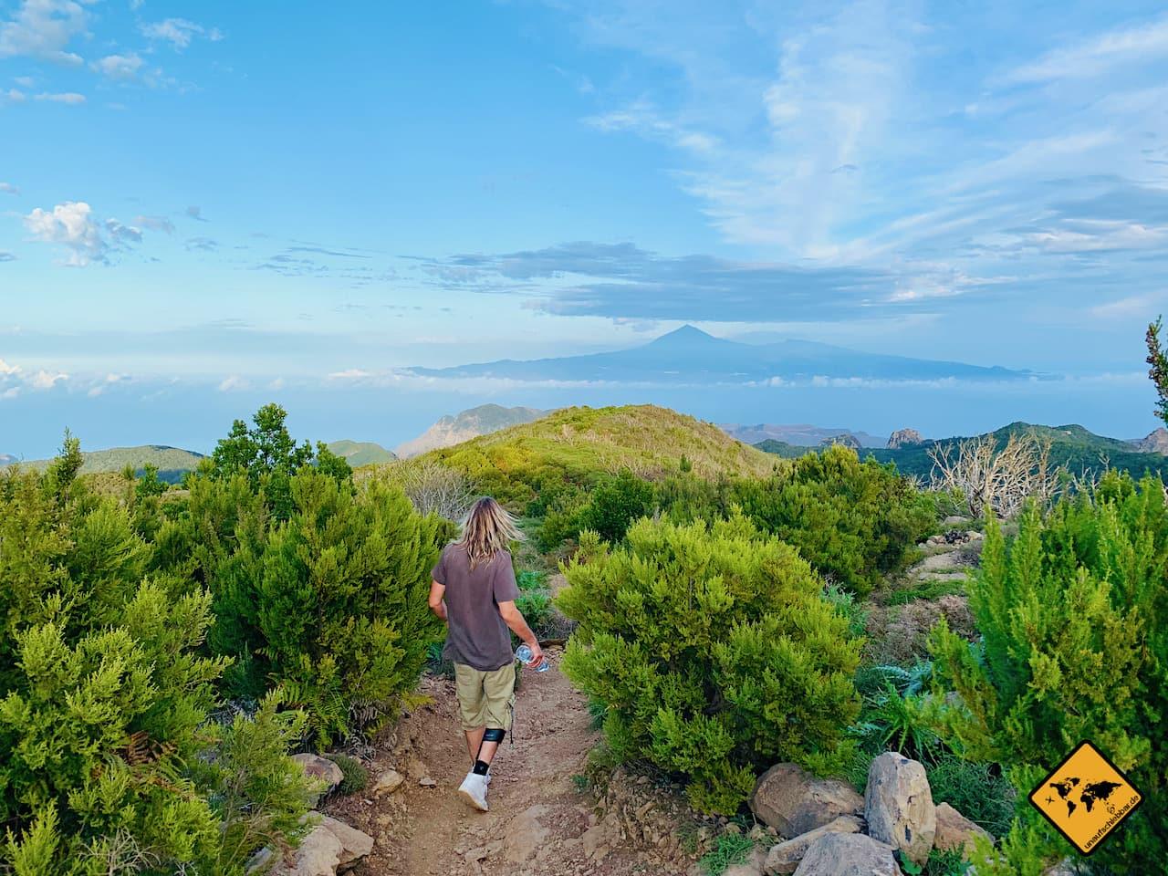 Wandern La Gomera kanarische Inseln