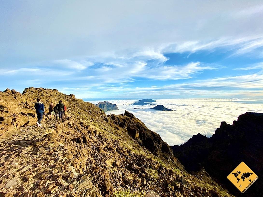 Wandern La Palma Roque de los Muchachos