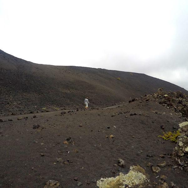 Der Rund-Wanderweg um den Volcan El Cuervo im Timanfaya Nationalpark dauert ca. 1 Stunde