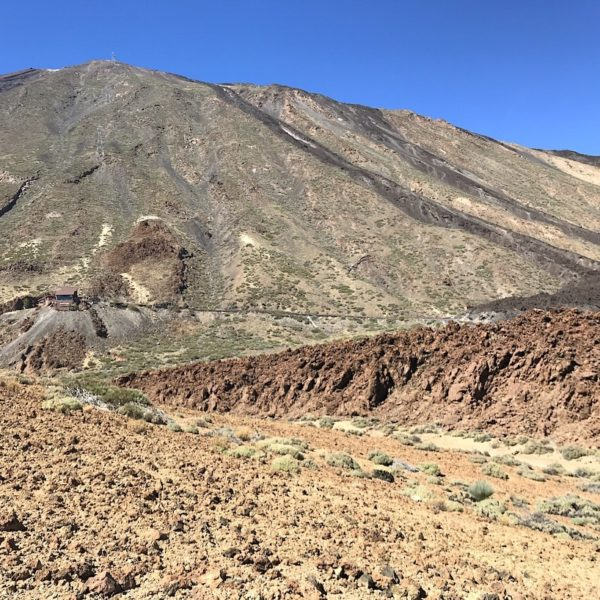 Wandern Teneriffa Sendero 16 Lavafelder