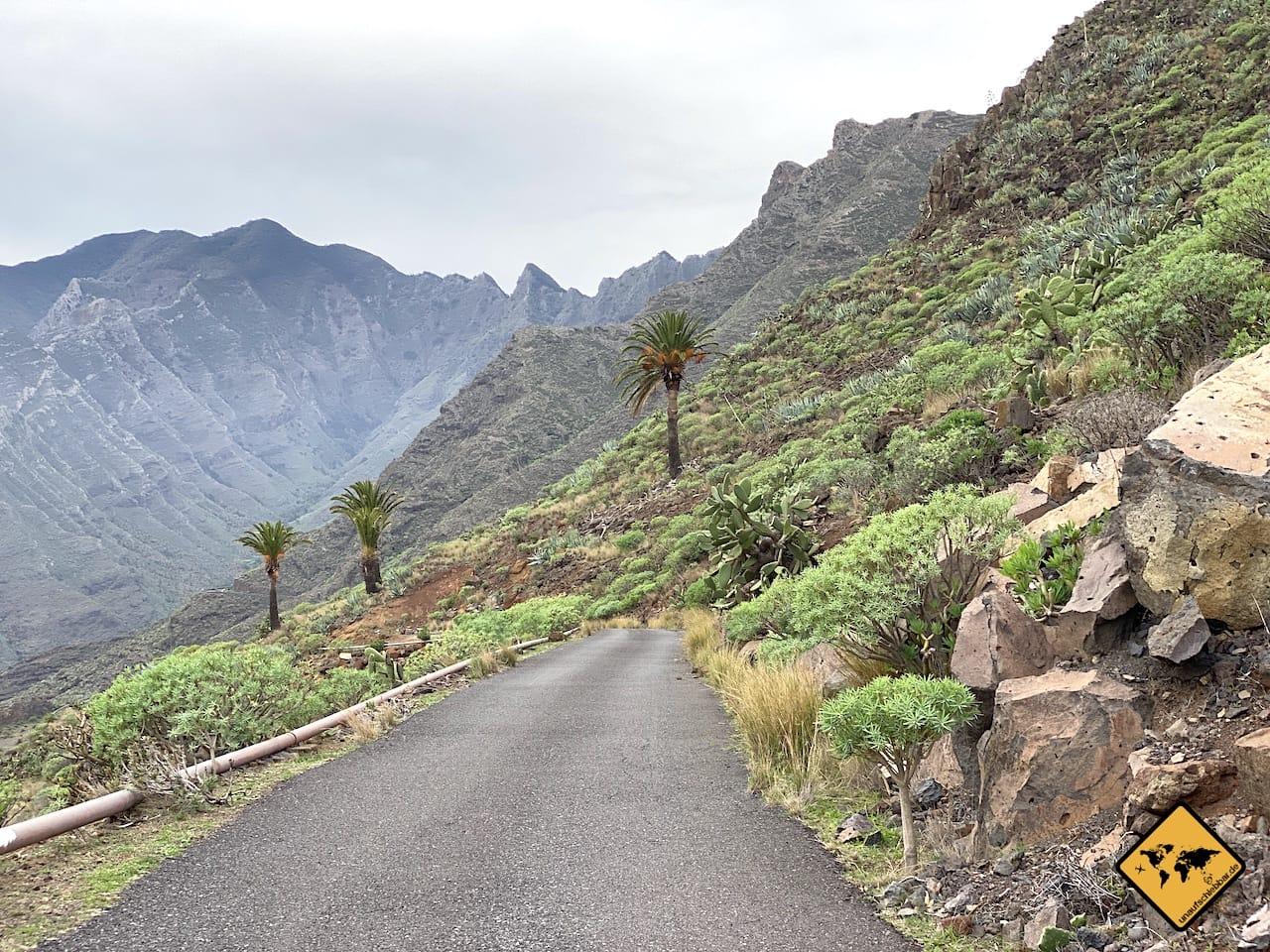 Wandern auf La Gomera Naturpark Majona