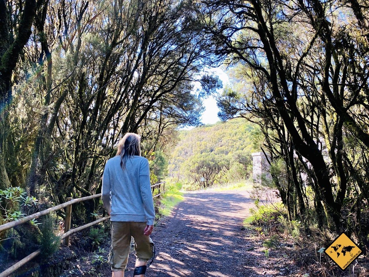 Wandern auf La Gomera Route 6 Laguna Grande