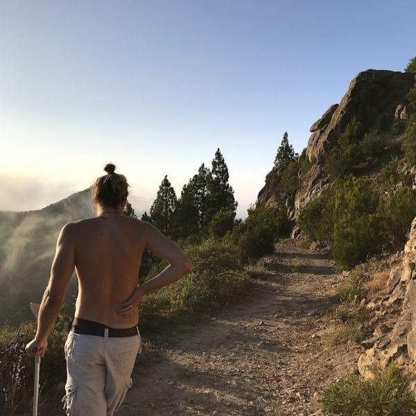 Wandern auf Teneriffa El Tanque Weg