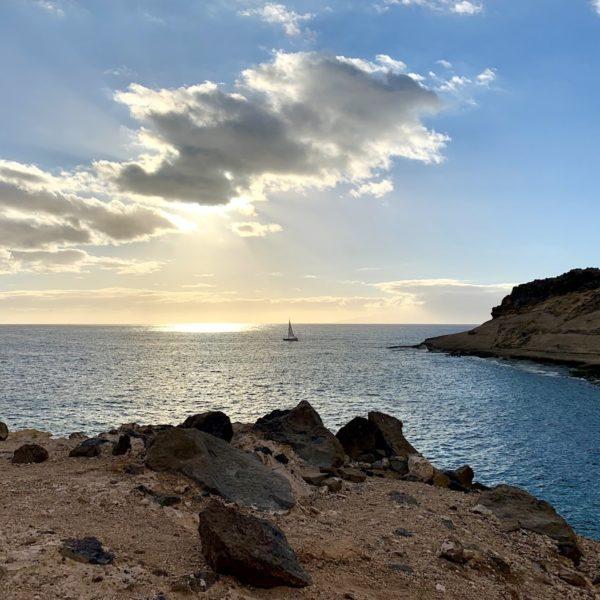 Wandern auf Teneriffa La Caleta de Adeje Meer