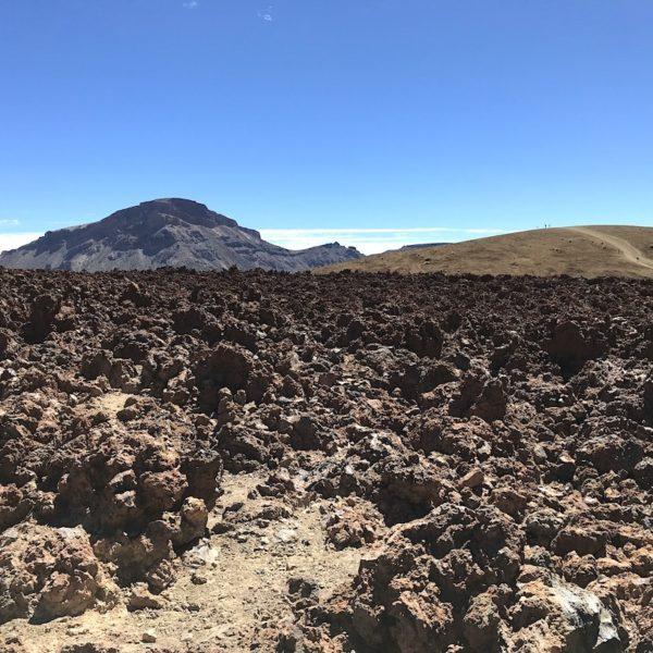 Wandern auf Teneriffa Lavafelder Sendero 16 Teide Nationalpark