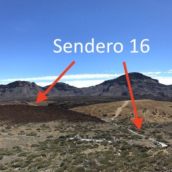 Wandern auf Teneriffa Sendero 16 Pico del Teide