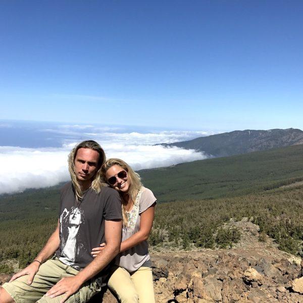 Wandern auf Teneriffa Wolken Sendero 14