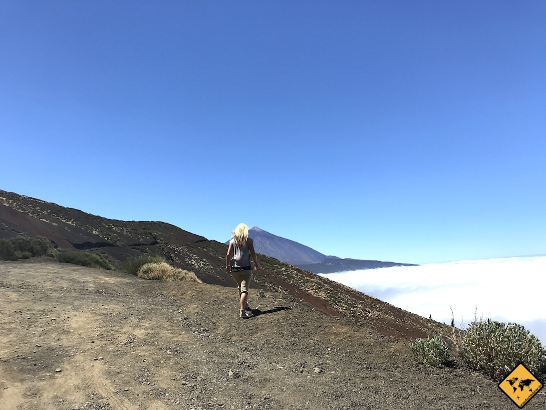 Wandern auf Teneriffa über den Wolken