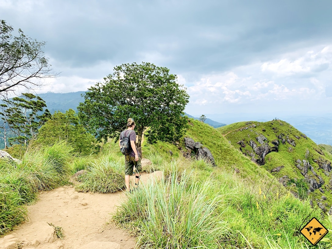 Wanderung Gipfel Little Adam's Peak Sri Lanka