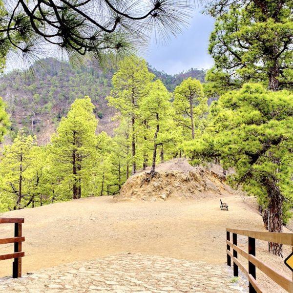 Wanderung Mirador de la Cumbrecita Nationalpark Caldera de Taburiente