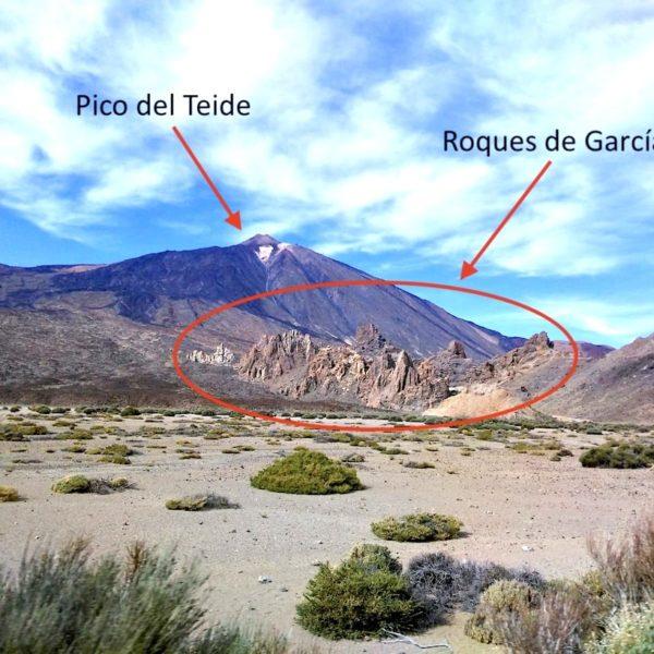 Wanderung Teneriffa Roques de García