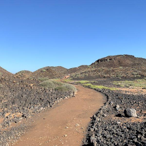 Wanderweg Markierung Isla de Lobos