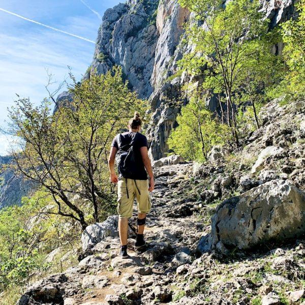 Wanderweg Paklenica Nationalpark Kroatien