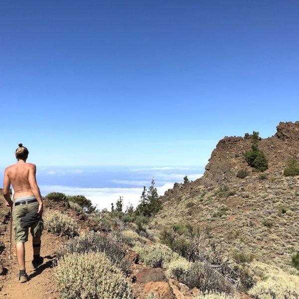 Wanderweg Sendero 14 Teide Nationalpark Teneriffa