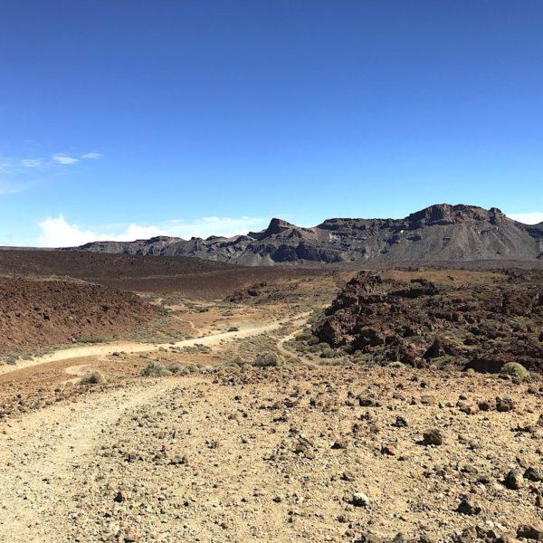 Wanderweg Sendero 16 Teide Nationalpark Teneriffa