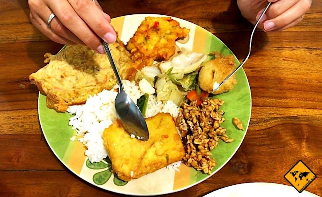 Warung indonesisches Essen Bali