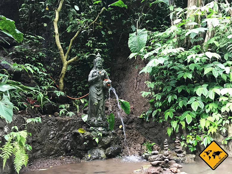 Wasser Skulptur
