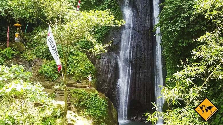 Wasserfälle auf Bali Air Terjun Kuning