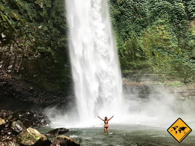 Wasserfälle auf Bali Nungnung Waterfall